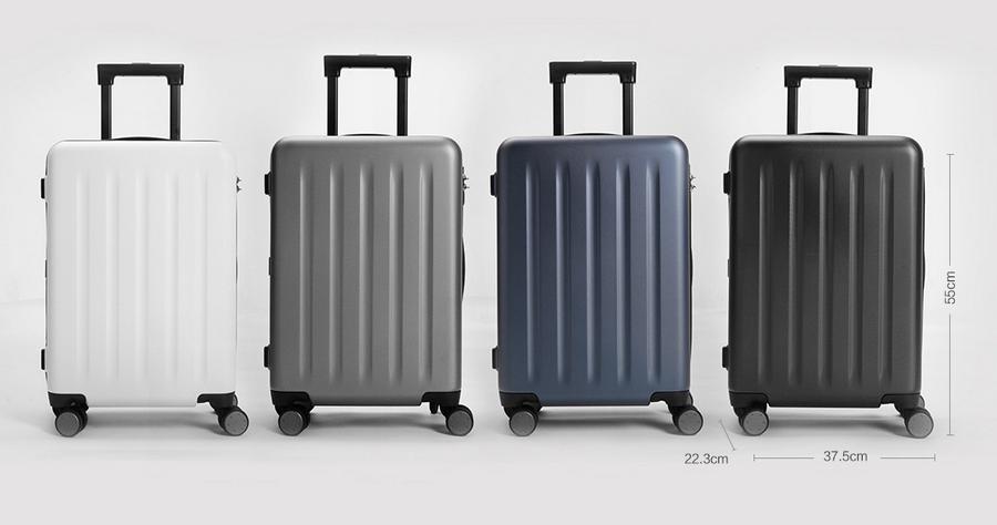 Mi Trolley 90 Points Suitcase 20″  gurulós bőrönd - fehér