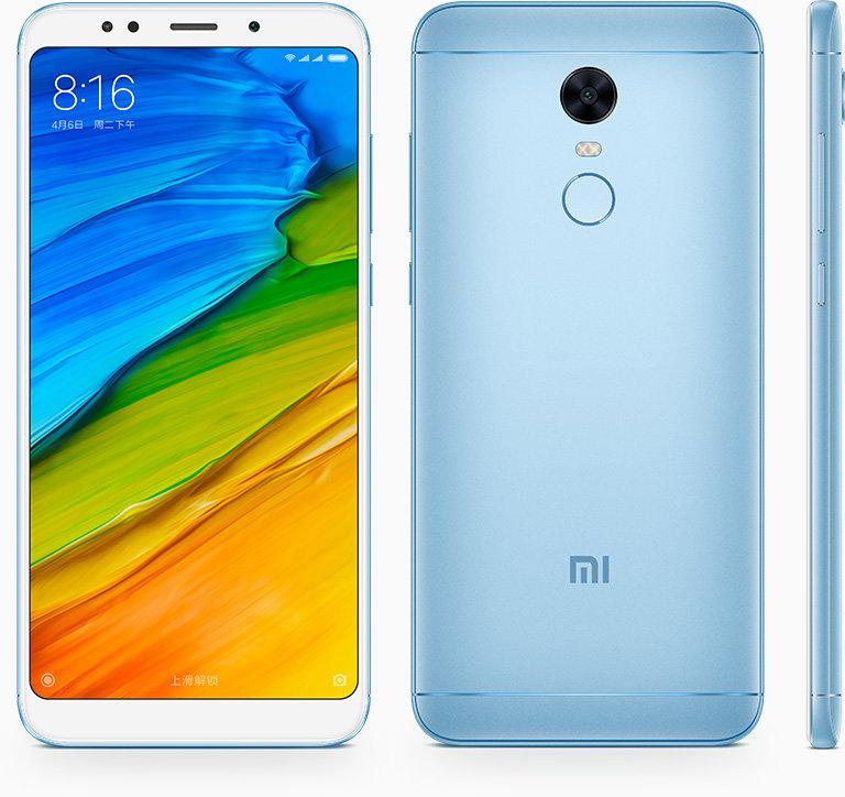 Redmi 5 Plus okostelefon - 3+32GB, kék - B20