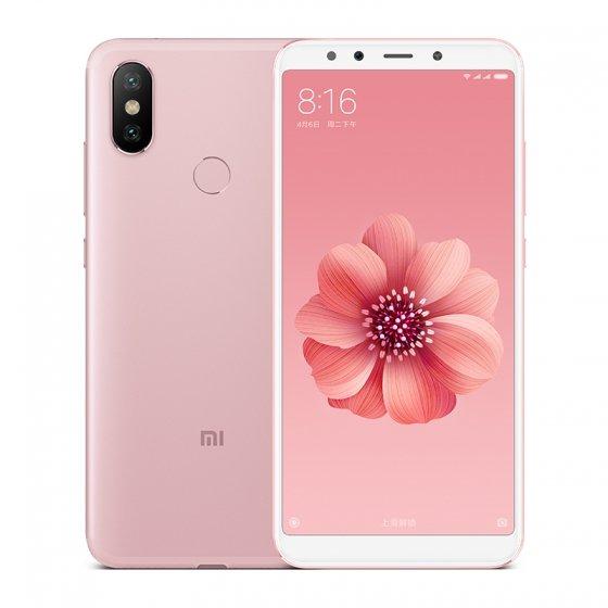 Mi 6X okostelefon 6+128GB, rozé-arany