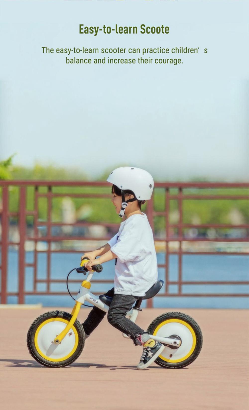 Xiaomi Qicycle KD-12 Gyermekkerékpár, sárga