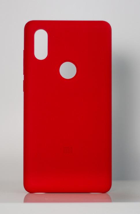 Mi MIX 2S szilikon tok, piros