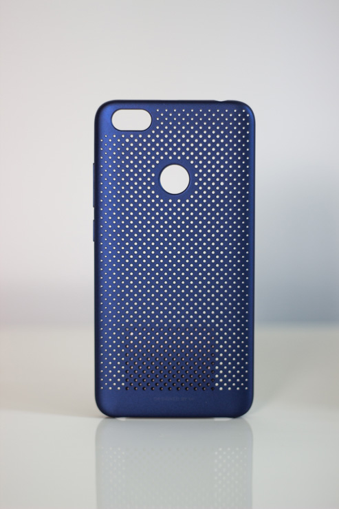 Redmi Note 5A Perforated Case műanyag tok, kék