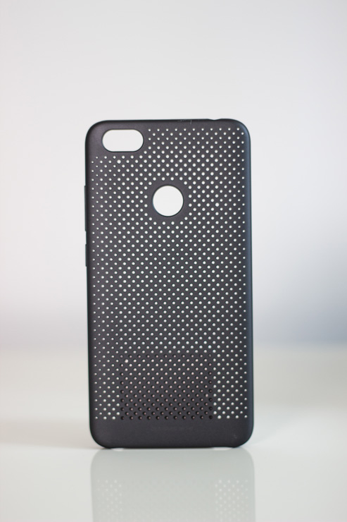 Redmi Note 5A Perforated Case műanyag tok, fekete