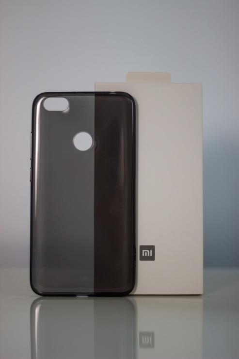 Redmi Note 5A Soft Case szilikon tok, fekete