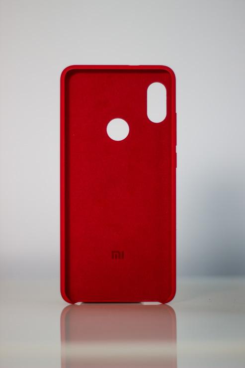 Redmi Note 5 Gyári műanyag tok, piros