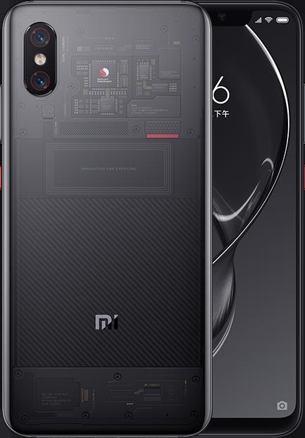Mi 8 Explorer Edition okostelefon - 8+128GB, fekete