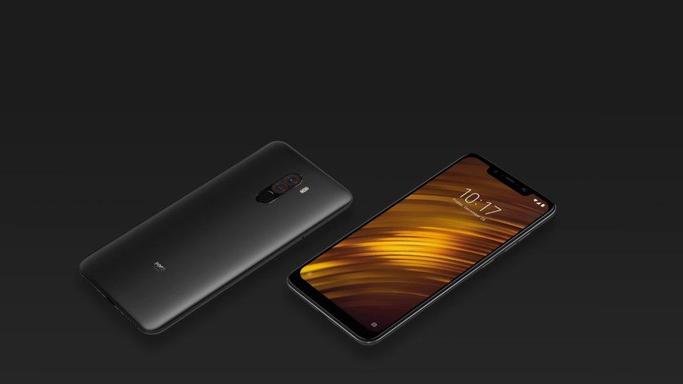 Pocophone F1 okostelefon 6+128GB, grafit-fekete