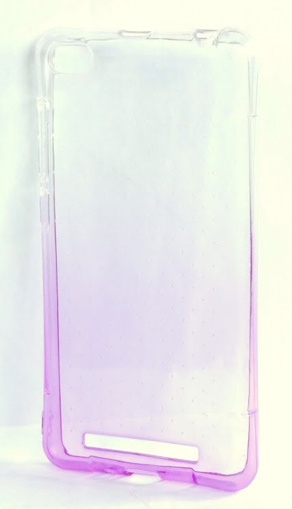 Redmi 3 szilikon tok - lila