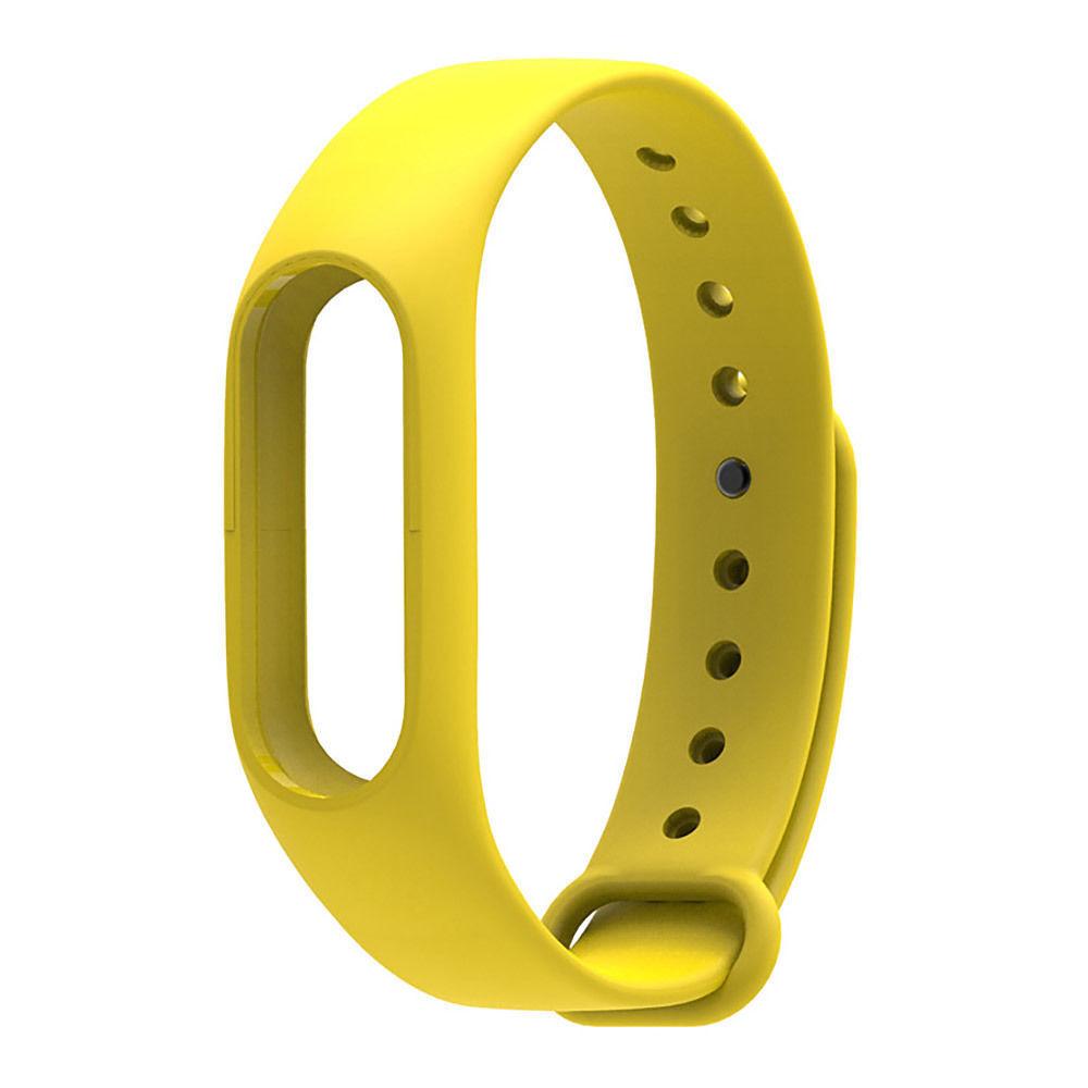 Mi Band 2 szilikonpánt - sárga