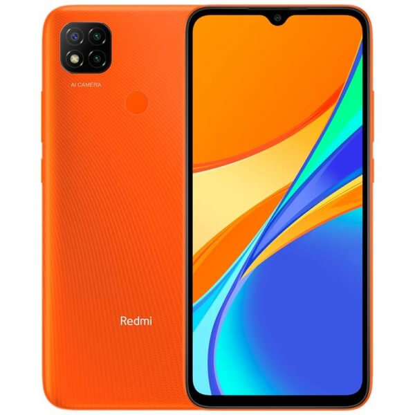 Xiaomi Redmi 9C 2GB+32GB - Narancs