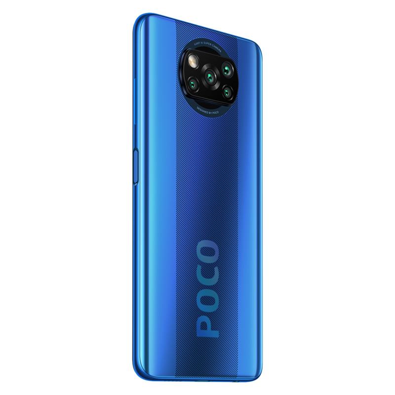 Smartphone Xiaomi POCO X3 - versiunea Global - 128 GB - Albastră
