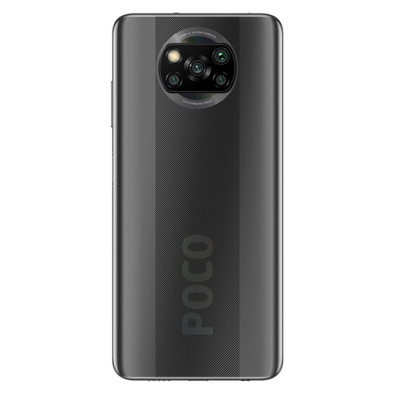 Smartphone POCO X3 NFC - Global - 6+64GB - Cenușiu