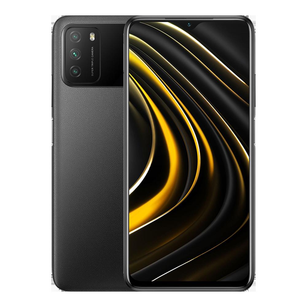 Xiaomi Poco M3 4Gb + 64Gb fekete
