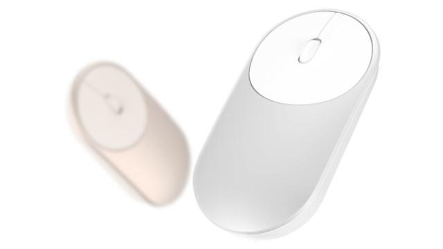 Mi Portable Mouse - vezetéknélküli egér, ezüst