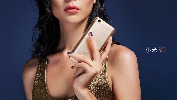 Mi 5S okostelefon - 4+128GB, arany