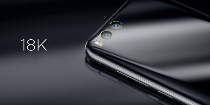 Mi 6 Exclusive okostelefon - 6+128GB, fekete
