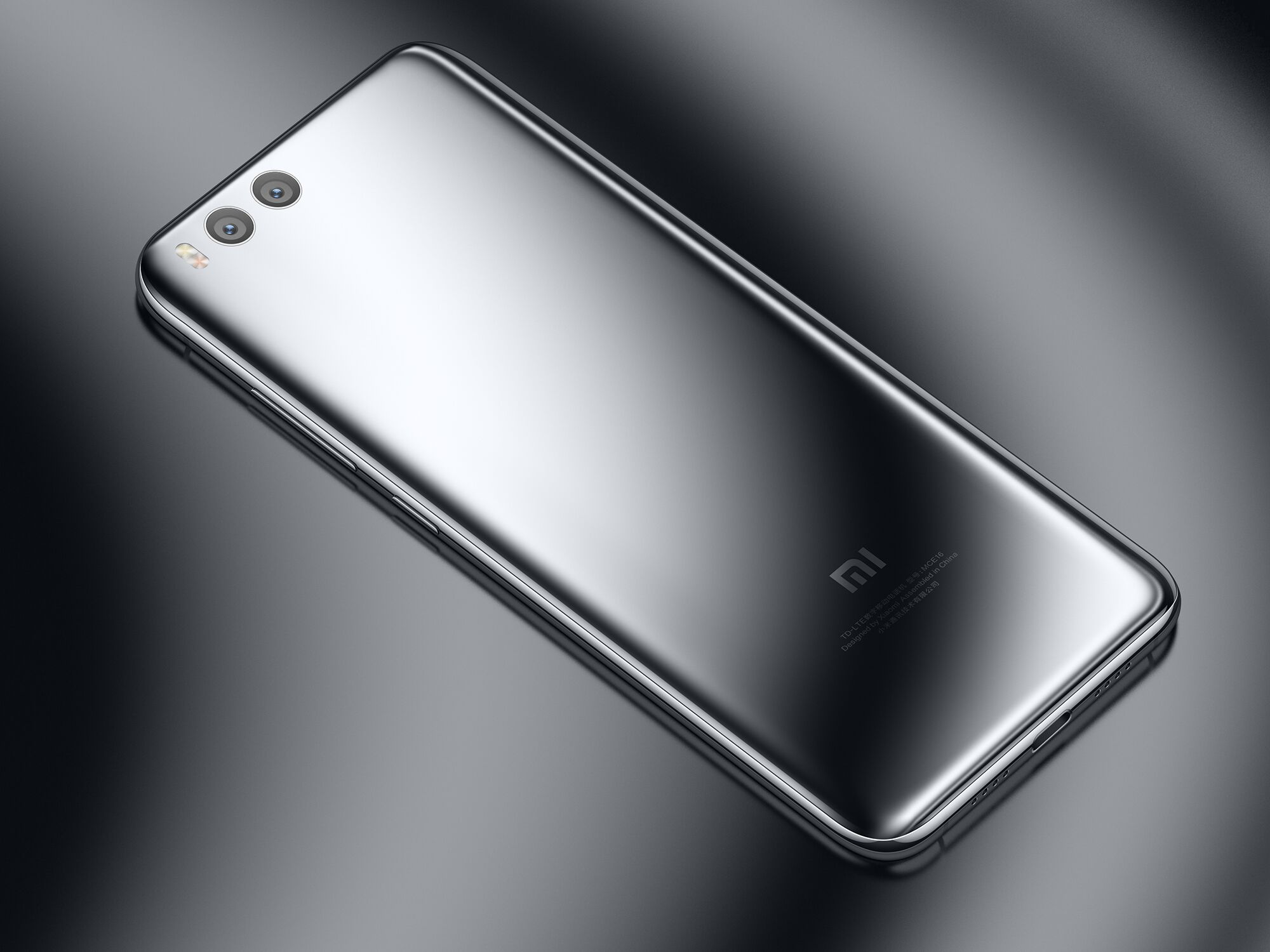 Mi 6 okostelefon - 6+128GB, ezüst