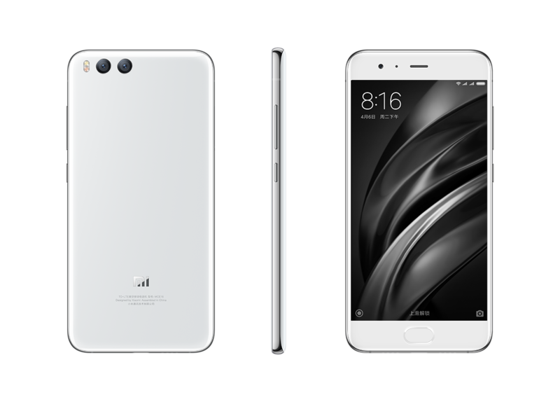 Mi 6 okostelefon - 6+128GB, fehér