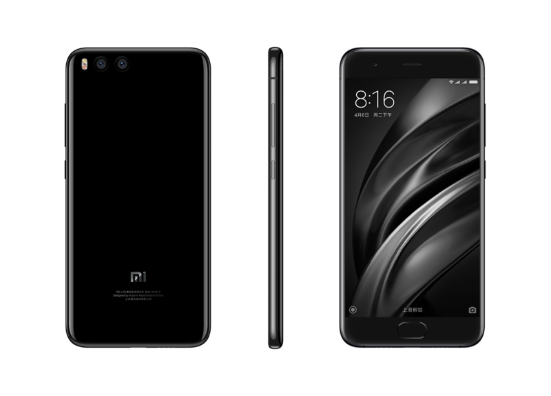 Smartphone Mi 6 - 6+128GB - Negru