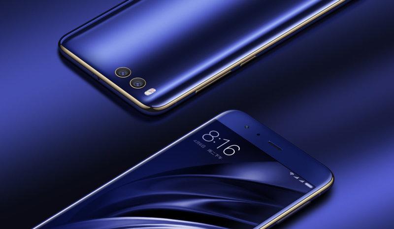 Mi 6 okostelefon - 6+64GB, kék