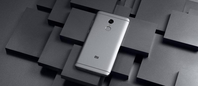 Redmi Note 4 okostelefon - 3+32GB, szürke - B20