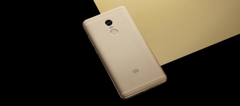 Redmi Note 4 okostelefon - 4+64GB, arany - B20