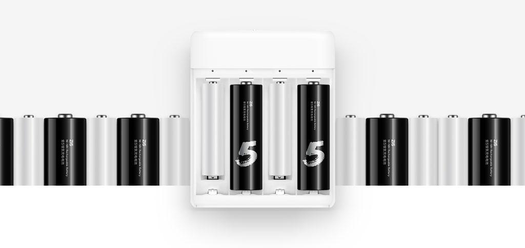 Xiaomi Zi5 AA NiMH újratölthető akkumulátor - 4db