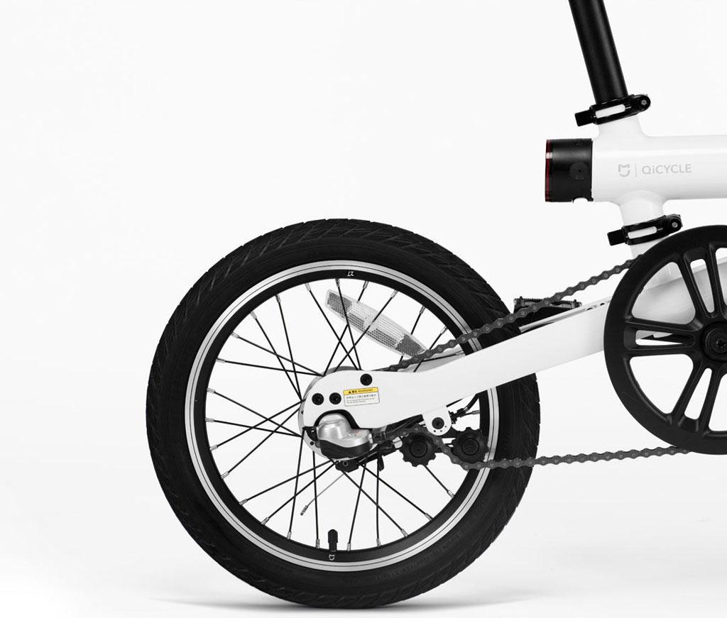 MiJia QiCycle elektromos összecsukható kerékpár - fekete
