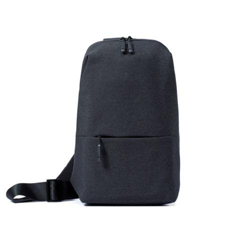 Mi Crossbody mellkas táska - sötétszürke