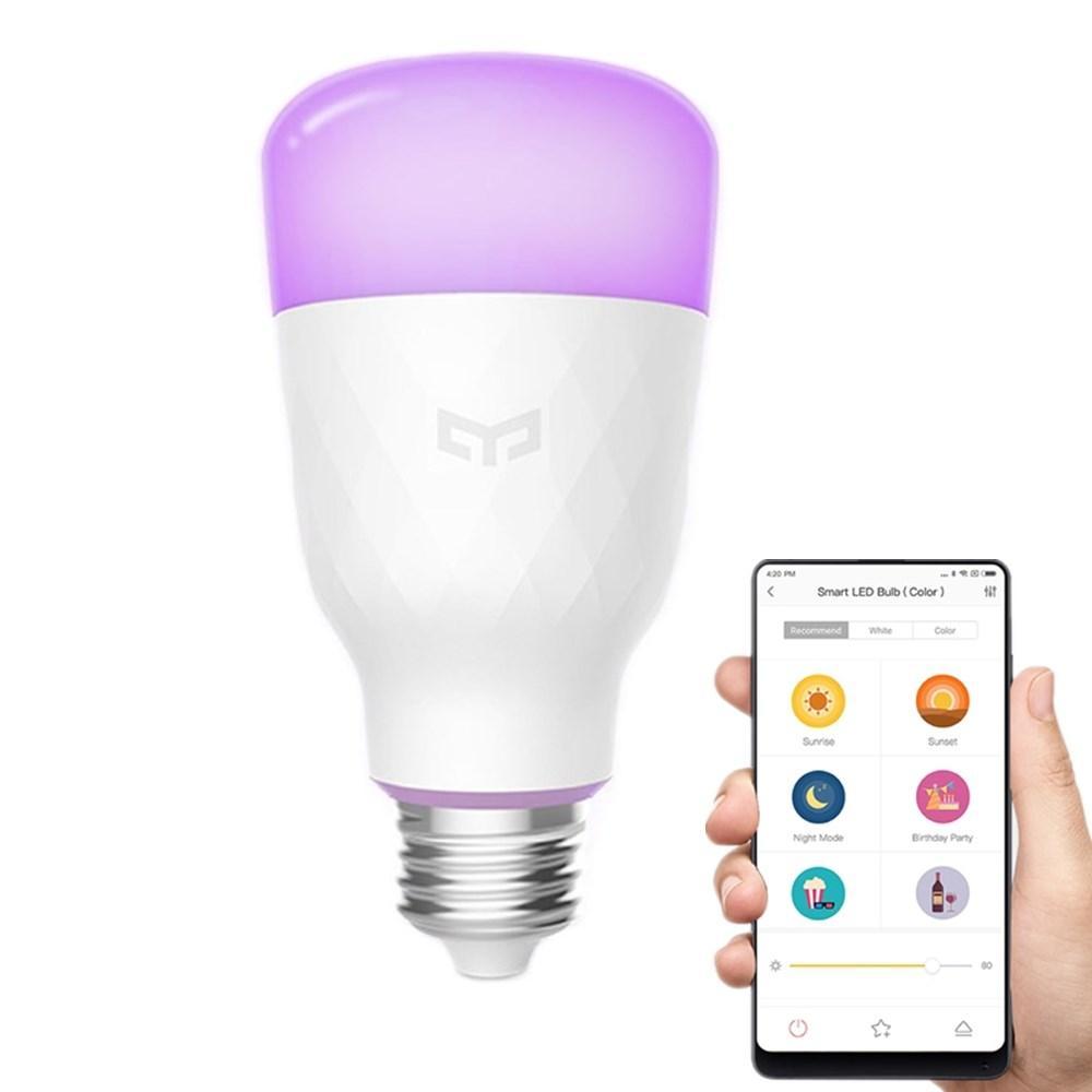Yeelight Smart LED Bulb E27 okosizzó (CN verzió) - színes