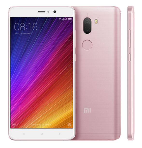 Mi 5S Plus okostelefon - 4+64GB, rozé arany