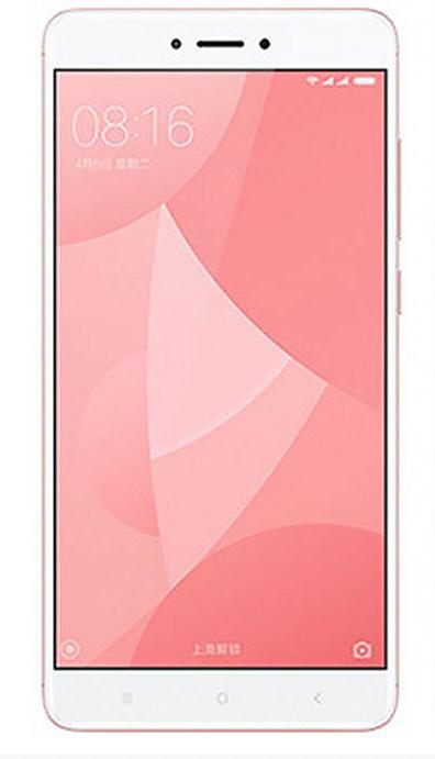 Redmi Note 4X okostelefon - 3+32GB, rózsaszín