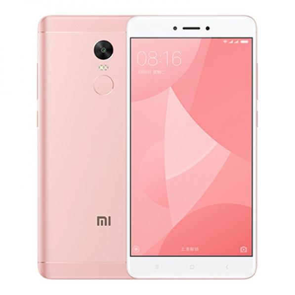 Redmi Note 4X okostelefon - 3+16GB, rózsaszín