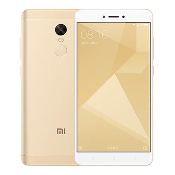 Redmi Note 4X okostelefon - 3+16GB, arany