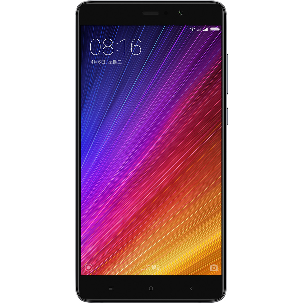 Mi 5S Plus okostelefon - 4+64GB, fekete