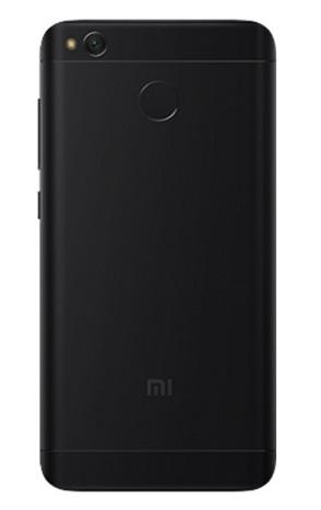 Redmi 4X okostelefon - 3+32GB, fekete