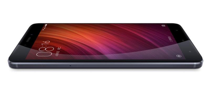 Redmi Note 4 MTK okostelefon - 3+64GB, fekete