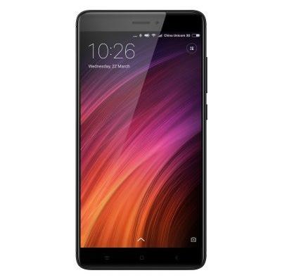 Redmi Note 4X okostelefon - 4+64GB (SD625), fekete