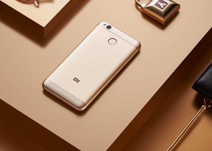 Redmi 4X okostelefon - 3+32GB, pezsgőarany