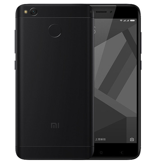 Redmi 4X okostelefon - 3+32GB, fekete - B20