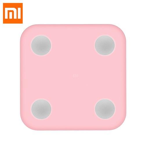 Mi Scale 2 okosmérleghez való rózsaszínű szilikon tok