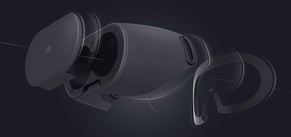 Mi VR Play 2 - VR szemüveg, fekete