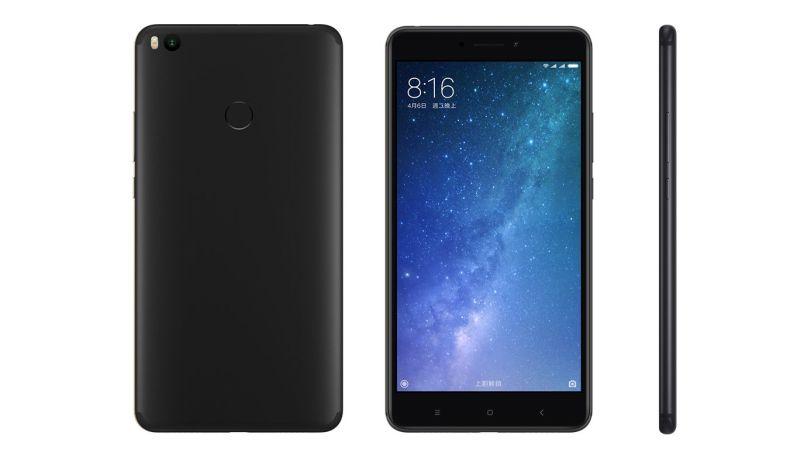 Mi Max 2 okostelefon - 4+64GB, fekete