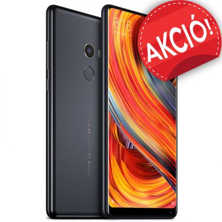 Mi MIX 2 okostelefon - 6+256GB, fekete + Ajándék tok és védőüveg!