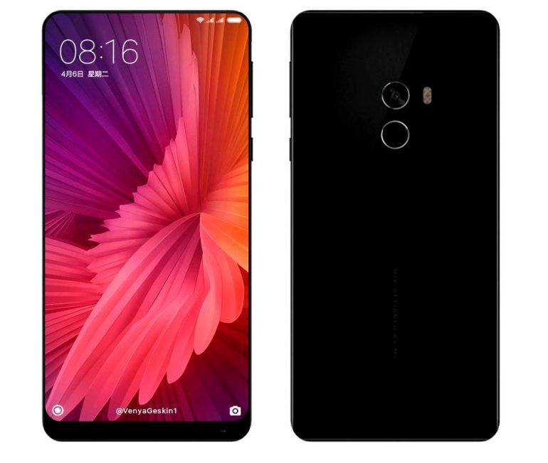 Mi MIX 2 okostelefon - 6+64GB, fekete
