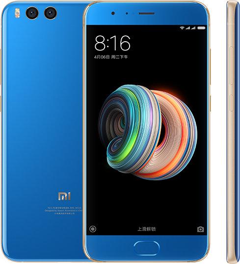 Mi Note 3 okostelefon - 6+128GB, kék