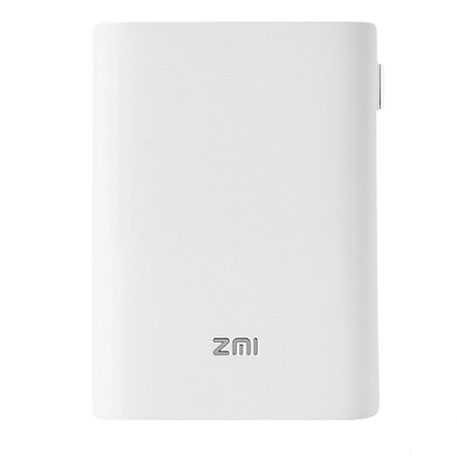 Xiaomi ZMI Router Wireless 4G - Power Bank 10000mAh, fehér