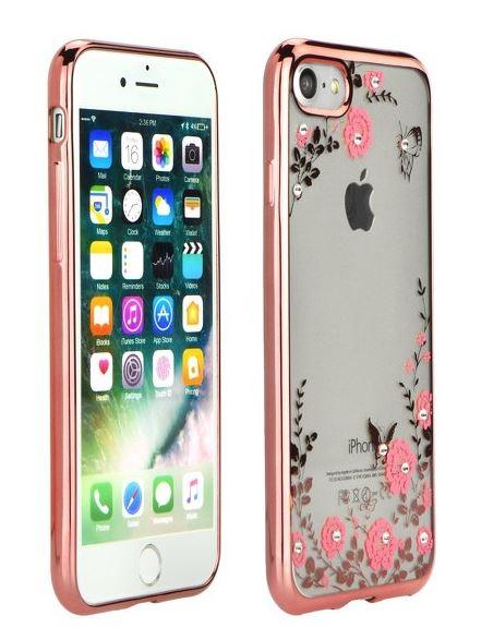 Redmi Note 4 / Note 4X Forcell Diamond szilikon tok - rózsaszín