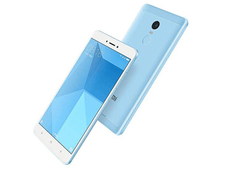 Redmi Note 4X okostelefon - 4+64GB(SD25), kék