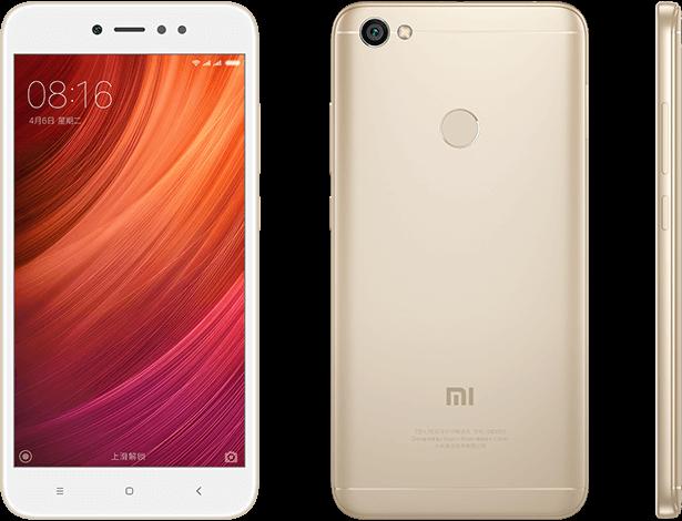 Redmi Note 5A Prime okostelefon - 4+64GB, arany